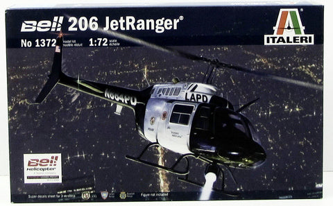 Italeri 1372 Bell 206 JetRanger Helicopter 1/72 New Aircraft Plastic Model Kit