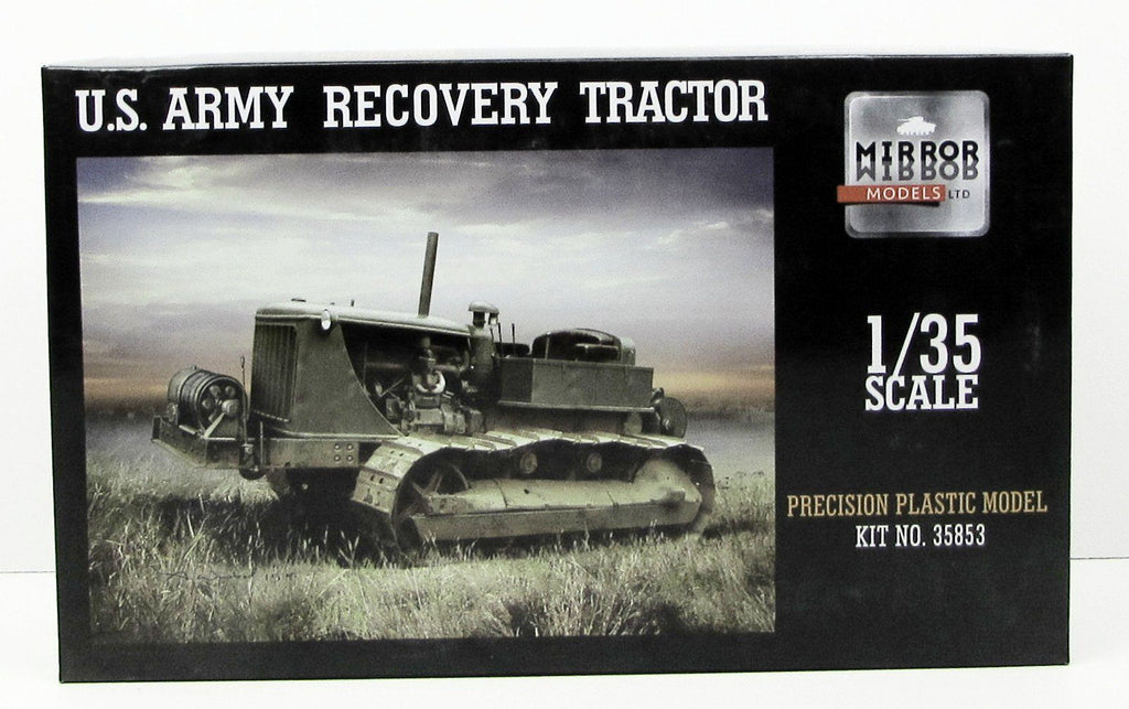 US Army Recovery Tractor Mirror Models 35853 1/35 New Plastic Model Kit