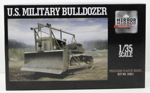 US Military Bulldozer Mirror Models 35851 1/35 New Plastic Model Kit