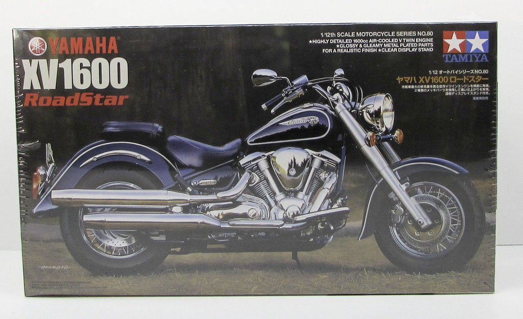 Yamaha XV1600 RoadStar Tamiya 14080 1/12 New Motorcycle Plastic Model Kit