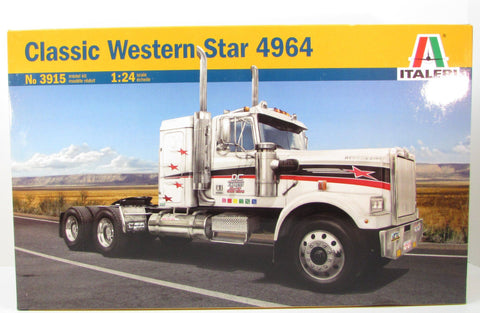 Italeri Classic Western Star 4964 1/24 3915 New Truck Plastic Model Kit
