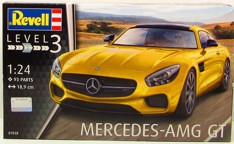 Revell Germany 7028 Mercedes - AMG GT Plastic Model kit 1/24
