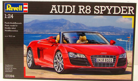 Revell Audi R8 Spyder 07094 1/24 New Plastic Model Car Kit