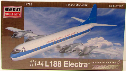 Minicraft L188 Electra 14723 1/144 New Plastic Model Airplane Kit