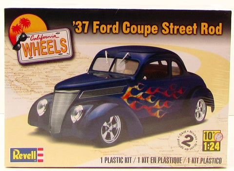 Revell 1937 Ford Coupe Street Rod 85-4097 1/24 New Plastic Model Kit