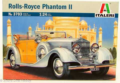 Italeri Rolls-Royce Phantom II 1/24 3703 New Car Plastic Model Kit