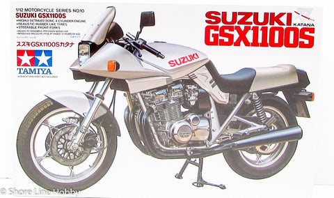 Tamiya Suzuki Katana 14010 1/12 New Plastic Motorcycle Model Kit