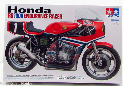 Honda RS1000 Endurance Racer Tamiya 1/12 Scale New Model Kit Discontinued