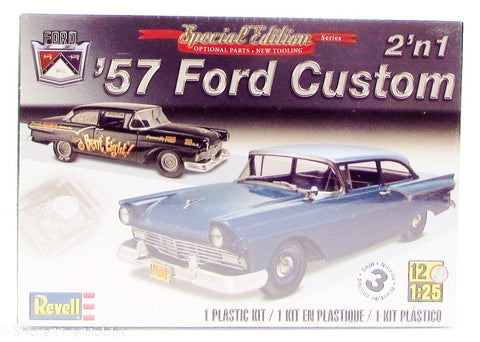 Revell 1957 Ford Custom 2'n1 85-4283 1/25 New Plastic Model Car Kit