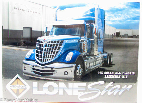 Moebius Models 2010 International Lonestar MOE1300 Plastic Model Truck Kit - 20% off!
