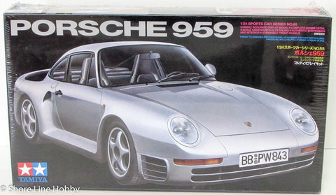 Tamiya Porsche 959 Sports Car 24065 1/24 Plastic Model Car Kit