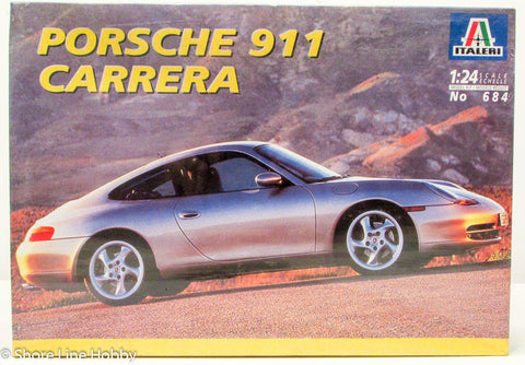 Italeri Porsche 911 Carrera 684 1/24 New Car Plastic Model Kit