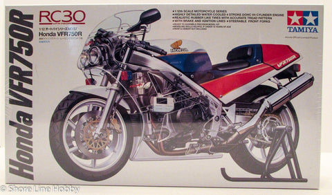 Tamiya Honda VFR750R Motorcycle 14057 1/12 New Plastic Model Kit