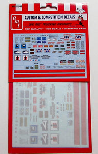 AMT Big Rig Trucking Graphics Decals 1/25 MKA22 - shore-line-hobby