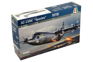 AC-130H Spectre Gunship Aircraft 1/72 Italeri 1310 Plastic Model Kit