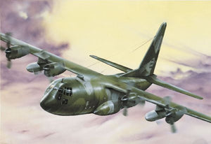 Italeri C-130H Hercules Aircraft 1/72 015 Plastic Model Airplane Kit