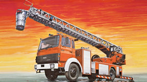 Italeri IVECO-Magirus DLK 23-12 Fire Ladder Truck 3784 1/24 Plastic Model Kit