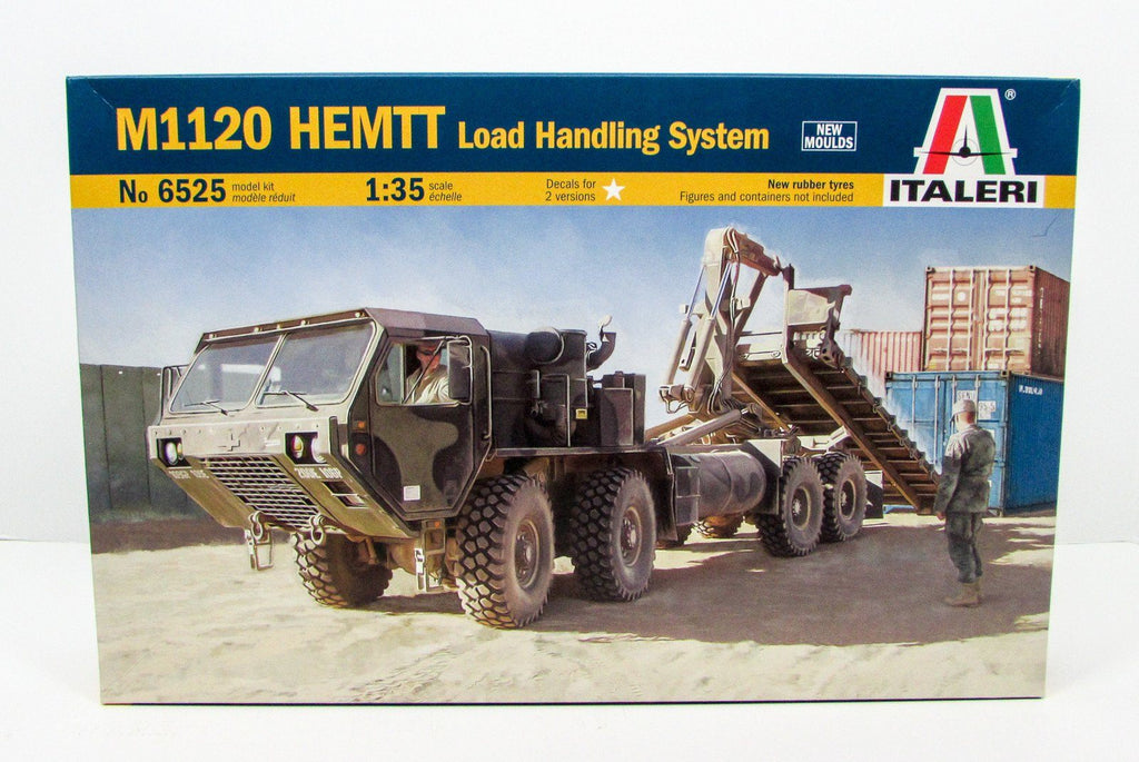 M1120 HEMTT Load Handling System Italeri 6525 1/35 New Plastic Model Kit - Shore Line Hobby