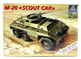 M-20 Scout Car 1/35 Italeri #366 New Model Kit - Shore Line Hobby