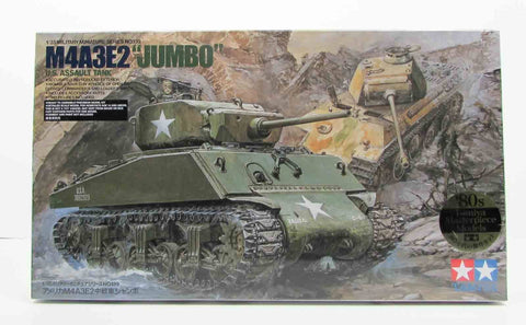 "M4A3E2 ""Jumbo"" US Assault Tank Tamiya 35139 1/35 Model Kit"