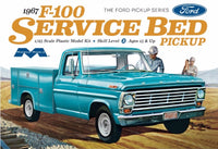 Moebius Models 1967 Ford F-100 Service Bed Pickup Truck 1/25 Plastic Model Kit 1239