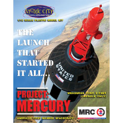 MRC Project Mercury Manned Spacecraft 62001 1/12 Plastic Model Kit
