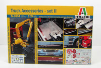 Italeri 3854 Truck Accessories Set 2 1/24 New Truck Parts Model Kit - shore-line-hobby