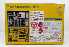 Italeri 3854 Truck Accessories Set 2 1/24 New Truck Parts Model Kit - Shore Line Hobby  - 2