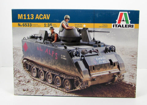 Italeri 6533 M113 ACAV Armored Personnel Carrier 1/35 New Military Model Kit