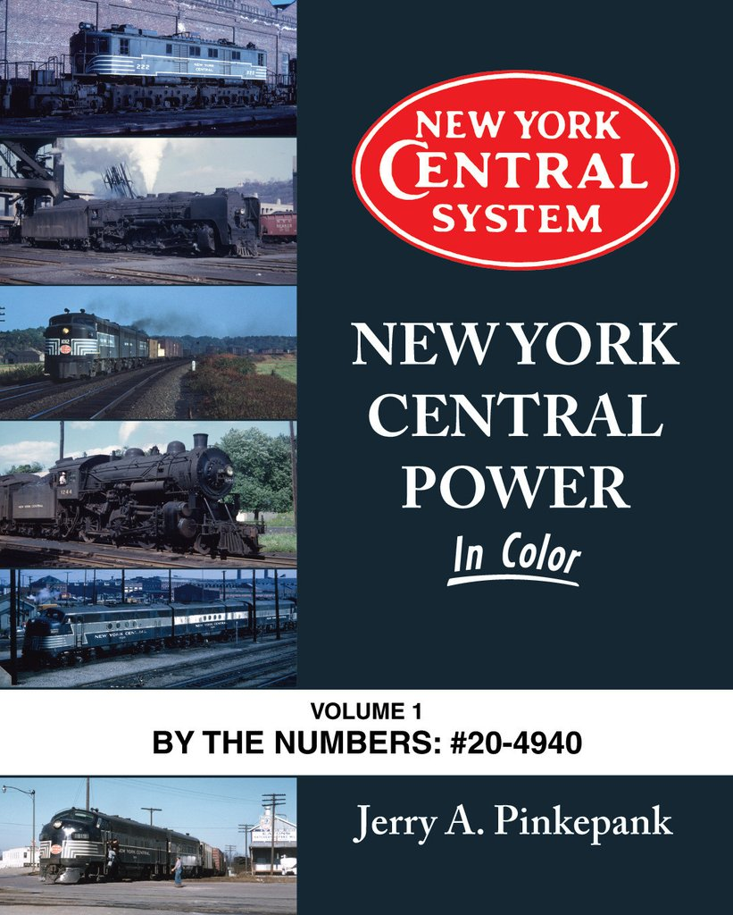 New York Central Power In Color Volume 1 - Shore Line Hobby