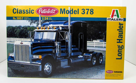 Peterbilt Classic Model 378 Truck Tractor Italeri 3857 1/24 Plastic Model Kit