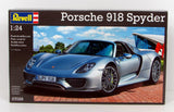 Porsche 918 Spyder Revell 07026 1/24 New Car Model Kit - shore-line-hobby