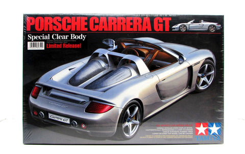 Porsche Carrera GT Clear Body Tamiya 89650 1/24 New Car Model Kit