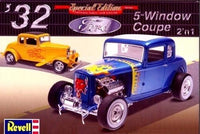 Revell 1932 Ford 5-Window Coupe 1/25 85-4228 Plastic Model Car Kit - Shore Line Hobby