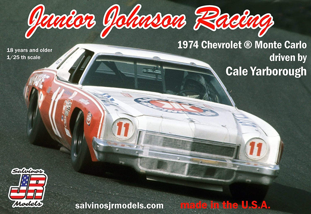 Salvinos JR Models Junior Johnson Racing 1974 Chevrolet Monte Carlo - Shore Line Hobby