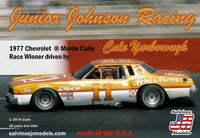 Salvinos JR Models Junior Johnson Racing 1977 Chevrolet Monte Carlo Driven by Cale Yarborough