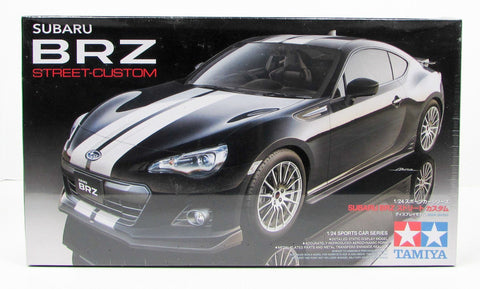 Tamiya Subaru BRZ Street Custom 24336 1/24 Plastic Model Car Kit