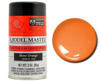 Testors 28107 3oz. Spray Model Master Auto Lacquer Hemi Orange