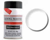 Testors 28139 Model Master Ultra Gloss Clearcoat Lacquer  3 Oz Aerosol Can