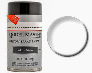 3oz. Spray Testors Model Master Enamel Primer White