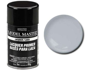 Testors Model Master Gray Sandable Primer Lacquer 3oz Spray Can 2981
