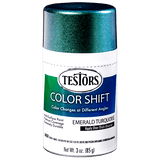 Testors Colorshift Emerald Turquoise 3 oz Spray Can 340908 - Shore Line Hobby