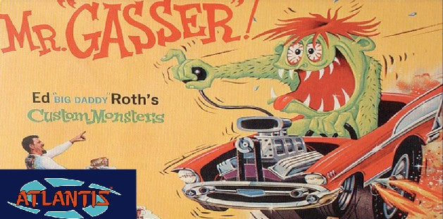 Ed Roth's Mr. Gasser Model Kit 1301 Atlantis Models - shore-line-hobby
