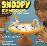 Atlantis Peanuts Snoopy and Woodstock Bird Bath Ice Hockey Game 5696 - Shore Line Hobby