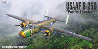 Academy B-25D Mitchell 'Pacific Theater' 1:48 12328 Plastic Model Airplane Kit - Shore Line Hobby