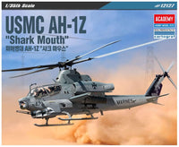 Academy USMC AH-1Z 'Shark Mouth' 1/35 12127 Helicopter Plastic Model Kit