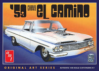 AMT 1959 Chevy El Camino 1058 1/25 Plastic Model Truck Kit - shore-line-hobby
