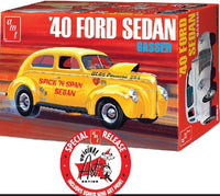 1940 Ford Sedan 1/25 AMT 1088 Plastic Model Kit