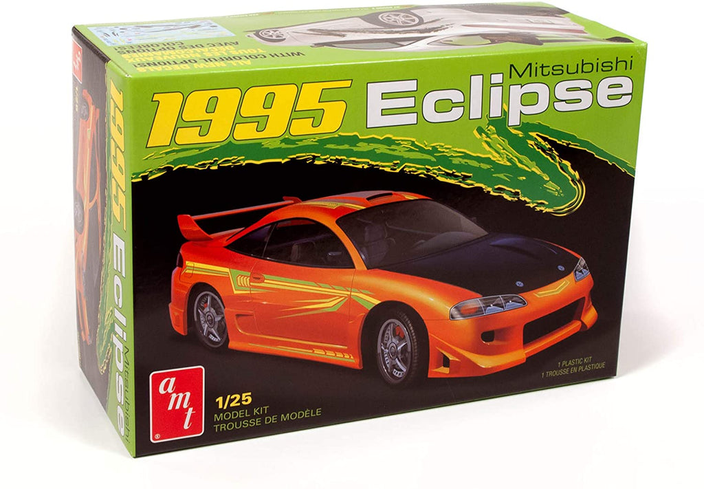 AMT 1995 Mitsubishi Eclipse 1:25 1089 Plastic Model Kit - Shore Line Hobby