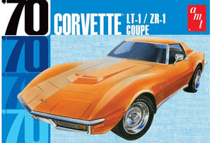 AMT 1097 1970 Corvette LT-1 ZR-1 Coupe Model Car Kit